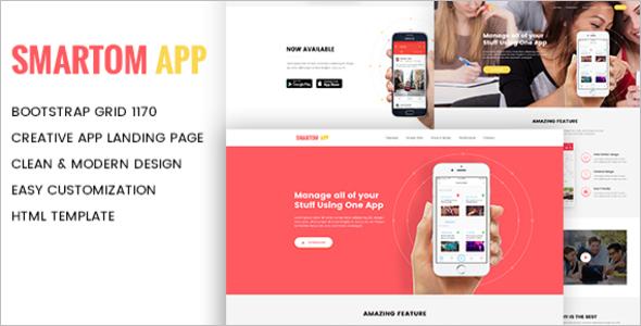 Parallax Web App Template