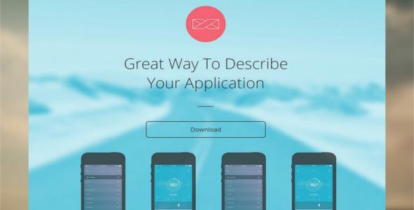 Parallax Web App Templates