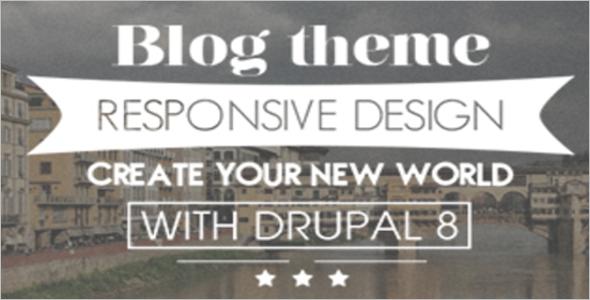 Personal Blog Drupal Free Theme