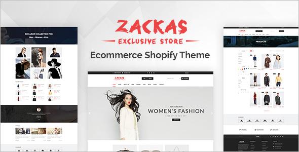 Personal E-Commerce Shopify Theme