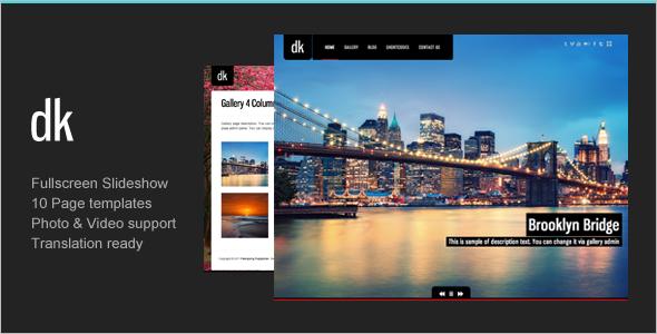 Personal Photo Studio WordPress Theme