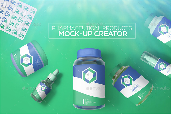 Pharmaceutical Products Mock-up