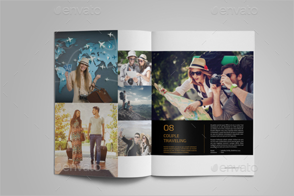 Photo Album Portfolio Design
