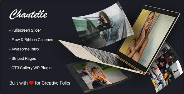 Photo Studio Gallery WordPress Theme