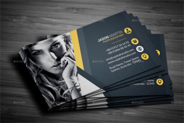Photography Business Card Ideas
