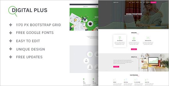 Portfolio Design Template Outlook