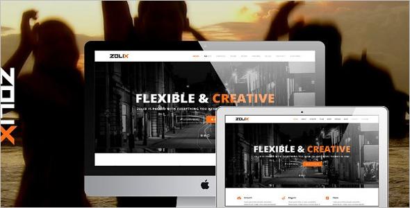 Portfolio Theme Design Outlook