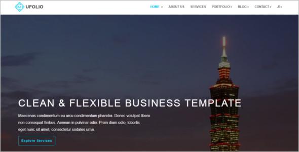 Portifilio Businesses Joomla Template