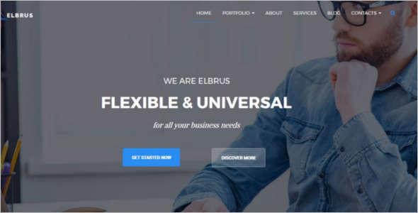 Portifilio Corporate WordPress Template