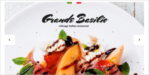 Portifilio Restaurant Responsive Joomla Template