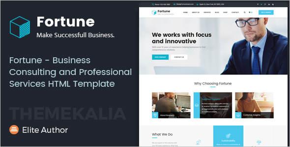 Premium Consultancy Business Website Template