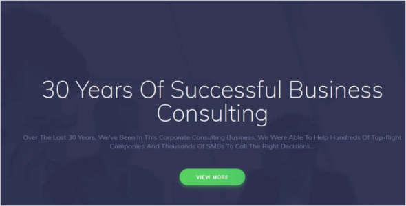 Premium Corporate WordPress Template