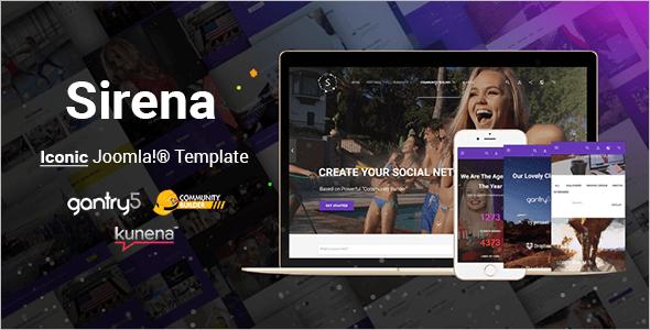 Premium Design Joomla Template