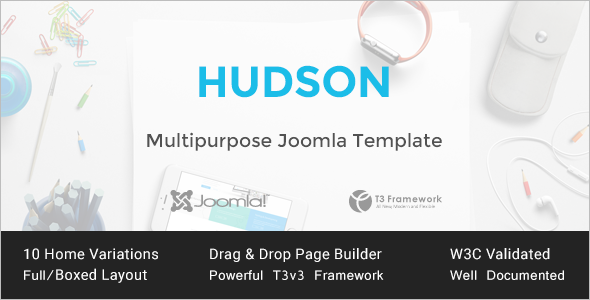 Premium High Responsive Joomla Template