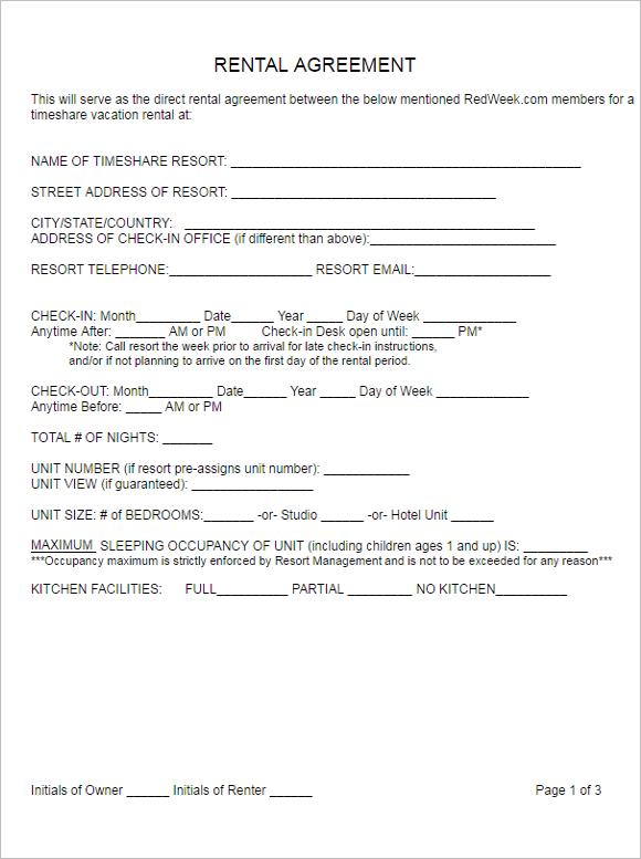 Printable Agreement Outlook Ideas