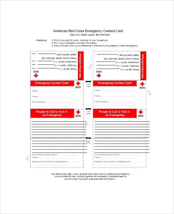 Printable Contact Form Ideas