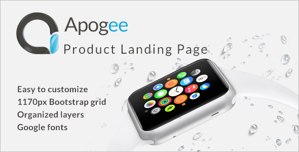 Product Landing Startup Template
