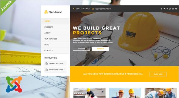 ProfessionalConstruction Joomla Template