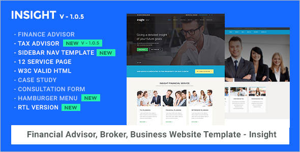Professional Consultancy Business Website Template