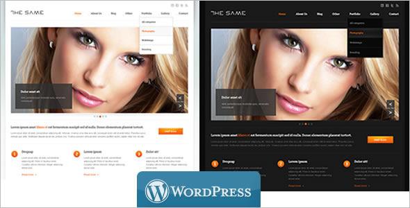 ProfessionalCorporate WordPress Template