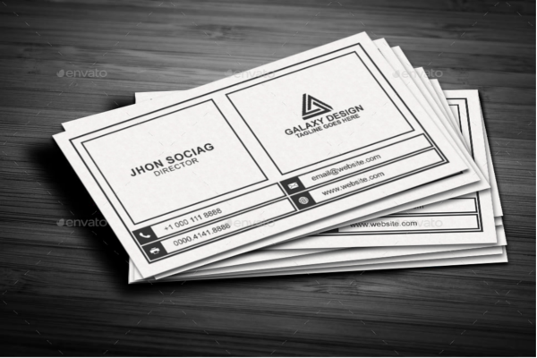 Professional Graphic Business Card