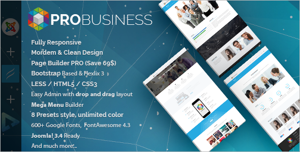 Professional Multi-Purpose Joomla Template