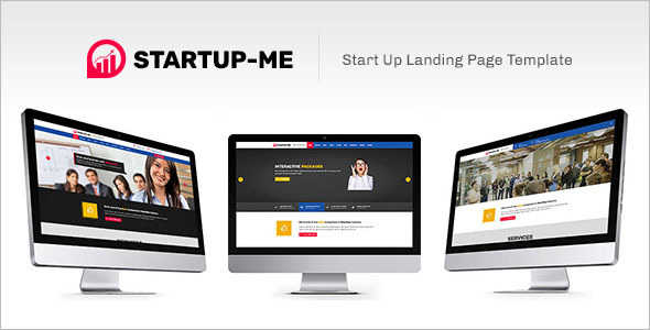 Professional Startup Landing Page Template