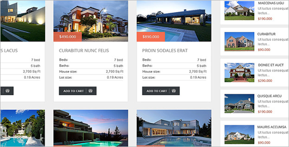 Real Estate Agency OsCommerce Template