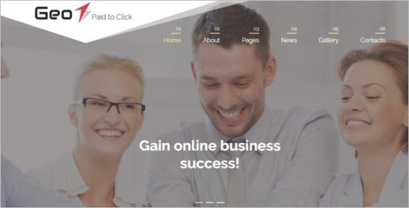 Responsive Business Joomla Website Theme