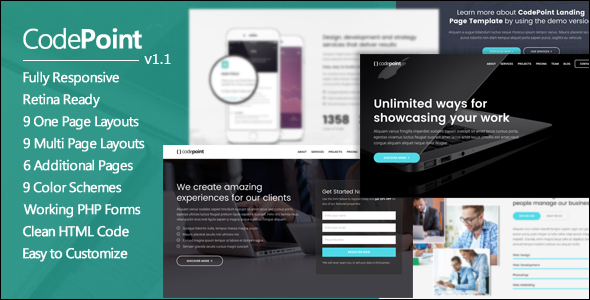 Responsive Corporate Business Theme