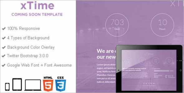Responsive Full Screen Video Template