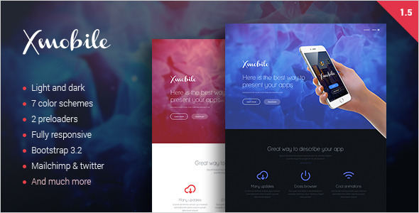 Responsive Ios Landing Page