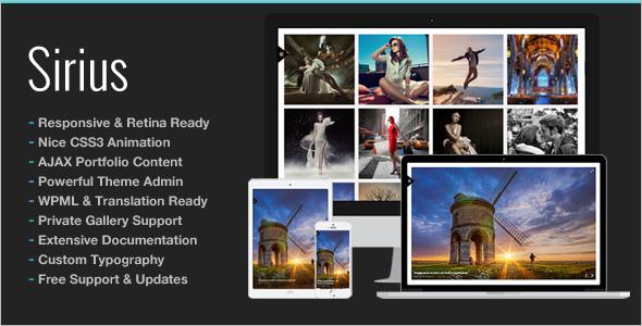 ResponsivePhoto Studio WordPress Theme