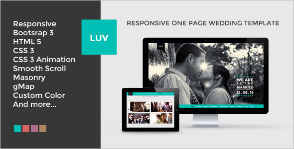 Responsive Wedding Joomla Template