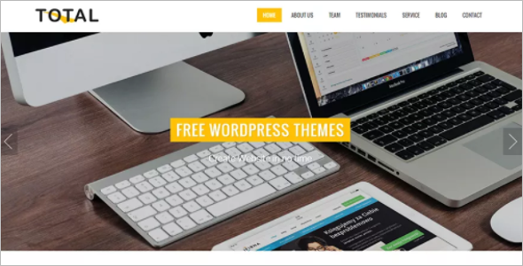Responsive WordPress Template
