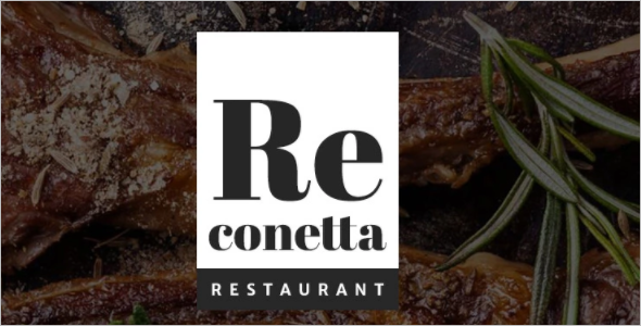 Restaurent Re conetta Joomla Template