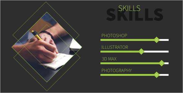 Resume Creative Powerpoint Template