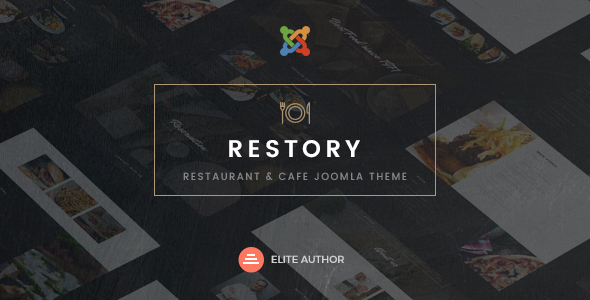 Retail Restaurant & Cafe Joomla Template