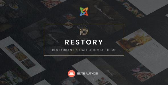 Retail Restaurant & Cafe Joomla Template