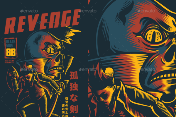 Revenge T-Shirt Design
