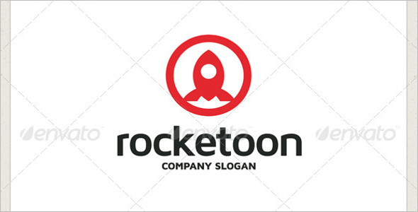 Rocket Symbol Logo Template
