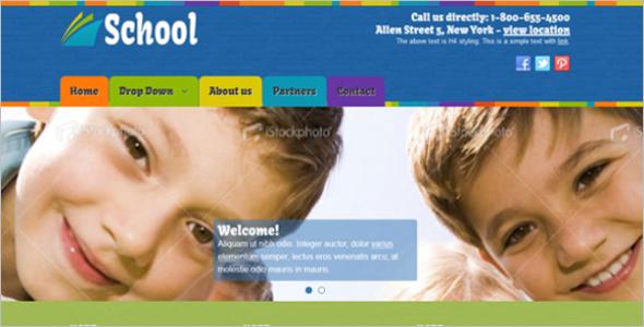 School Joomla Template Free