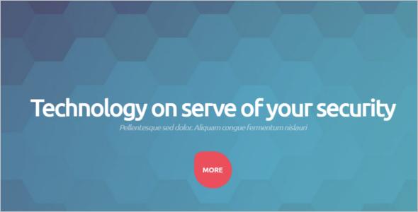 Security Technology WordPress Template