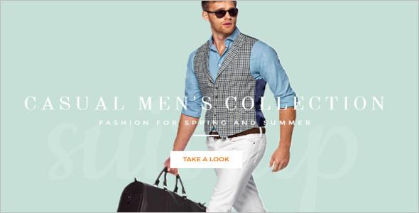 Shopify Men's Fashion Template