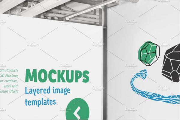 Signage Mockup Template Design
