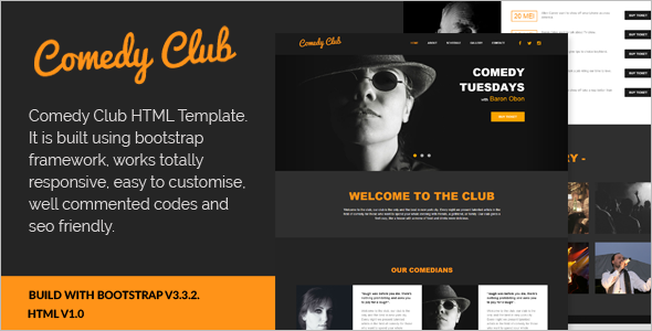 Simple Promotion Html Template