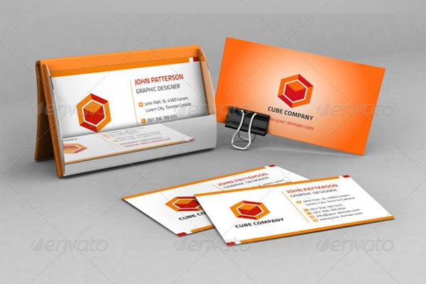 Smart Orange Envelope Design