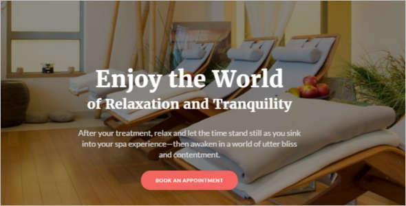 Spa Resort Business Joomla Website Template