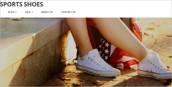 Sport Shoes Fashion Theme