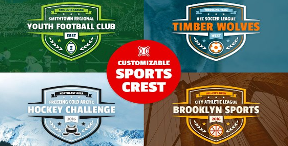 Sports Event Logo Template